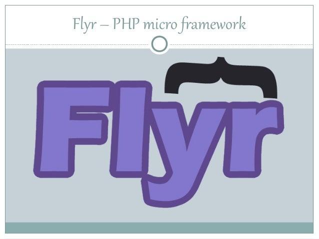 Flyr – PHP micro framework