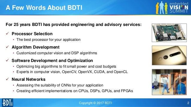"""Demystifying Deep Neural Networks,"" a Presentation from BDTI"