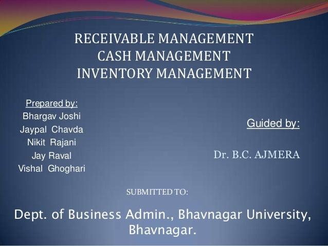 Prepared by: Bhargav Joshi Jaypal Chavda Nikit Rajani Jay Raval Vishal Ghoghari Dept. of Business Admin., Bhavnagar Univer...