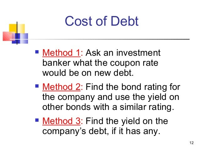should flotation costs be included in the component cost of debt calculation What is the market interest rate on harry davis' debt and its component cost of  debt  optional question should flotation costs be included in the estimate.