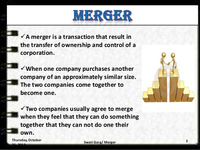 Merger and acquisition ppt