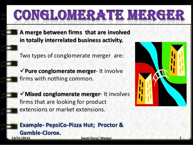 conglomerate acquisition example