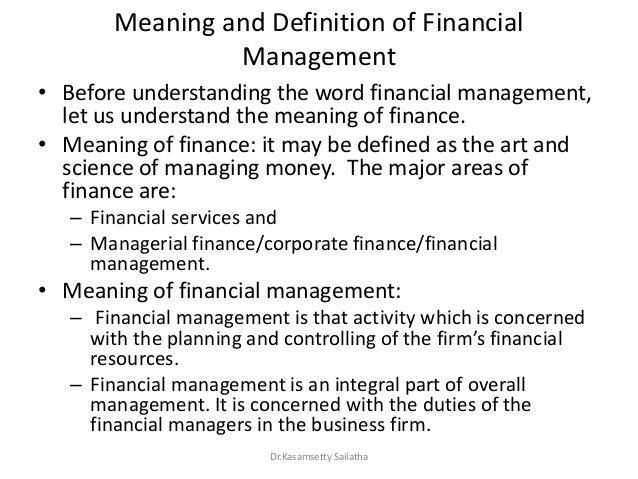 Financial Management- module-1