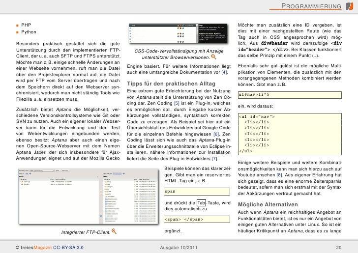 P ROGRAMMIERUNG  PHP                                                                                                    Mö...
