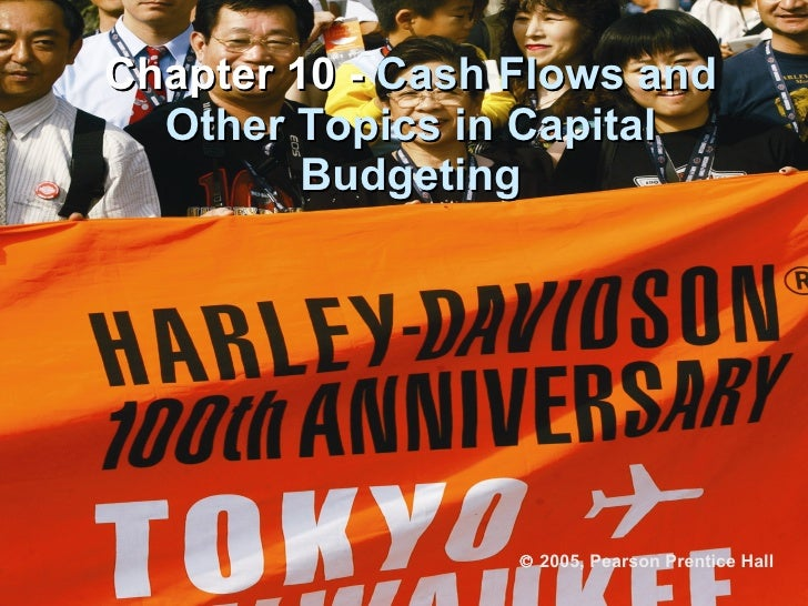 Chapter 10 -  Cash Flows and Other Topics in Capital Budgeting    2005, Pearson Prentice Hall