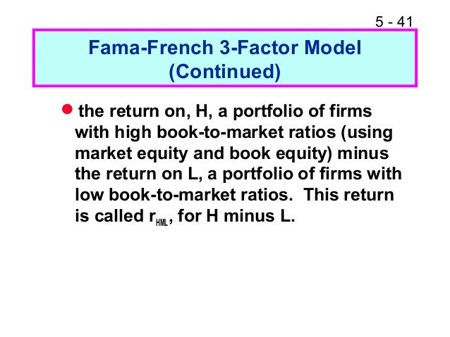 three factor asset pricing model The fama-french three-factor model is a method for explaining the risk and return of stocks the fama-french three-factor model is an advancement of the capital asset pricing model (capm) beta is the brainchild of capm.