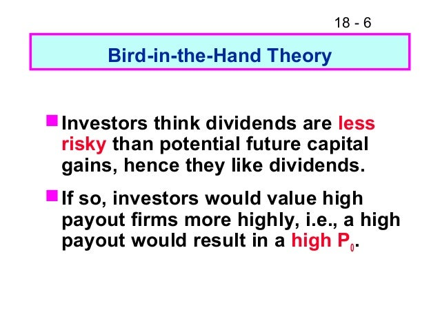 residual dividend theory