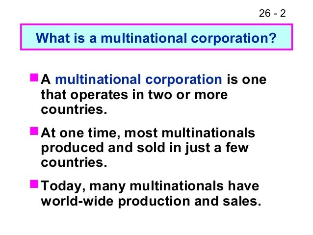 Fm11 ch 26 multinational financial management Slide 2