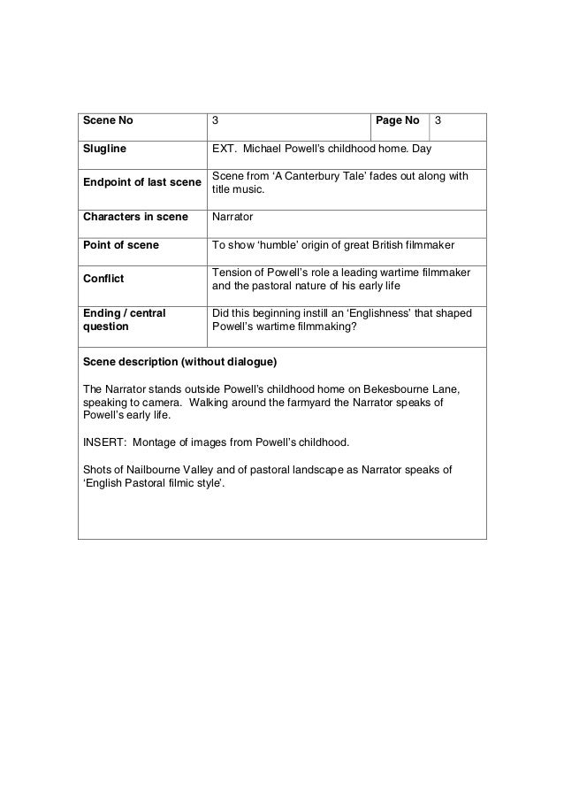 narrative speech outline template - write narrative speech