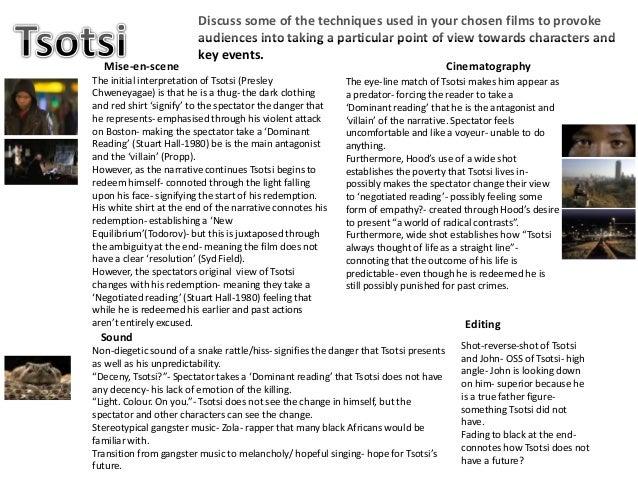Tsotsi essay