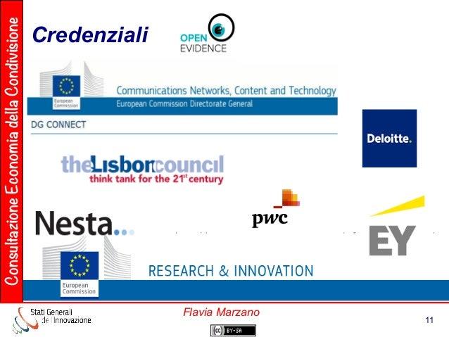 ConsultazioneEconomiadellaCondivisione 11 Flavia Marzano Credenziali