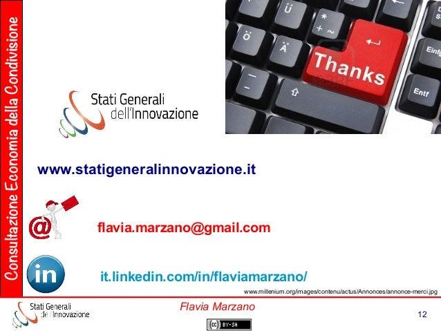 ConsultazioneEconomiadellaCondivisione 12 Flavia Marzano www.millenium.org/images/contenu/actus/Annonces/annonce-merci.jpg...