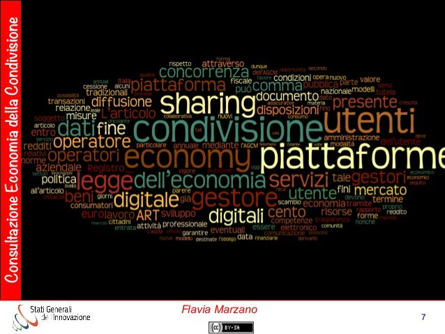 ConsultazioneEconomiadellaCondivisione 7 Flavia Marzano