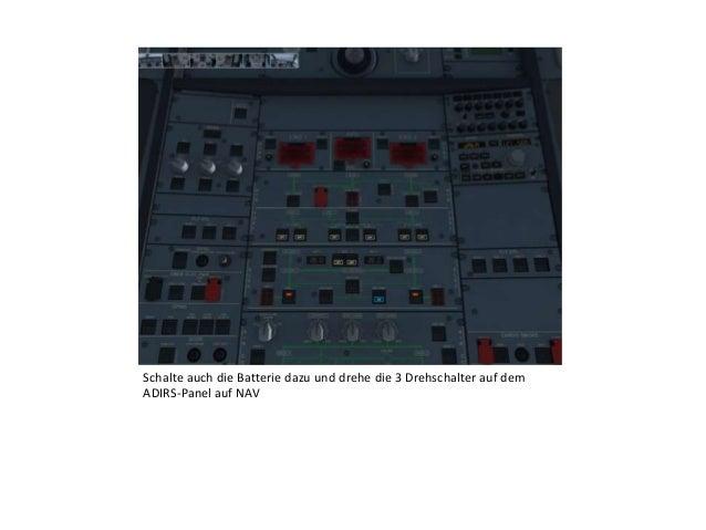 """FMC Tutorial """"Programmierung für den Take-Off"""" Aerosoft AXE Slide 3"""