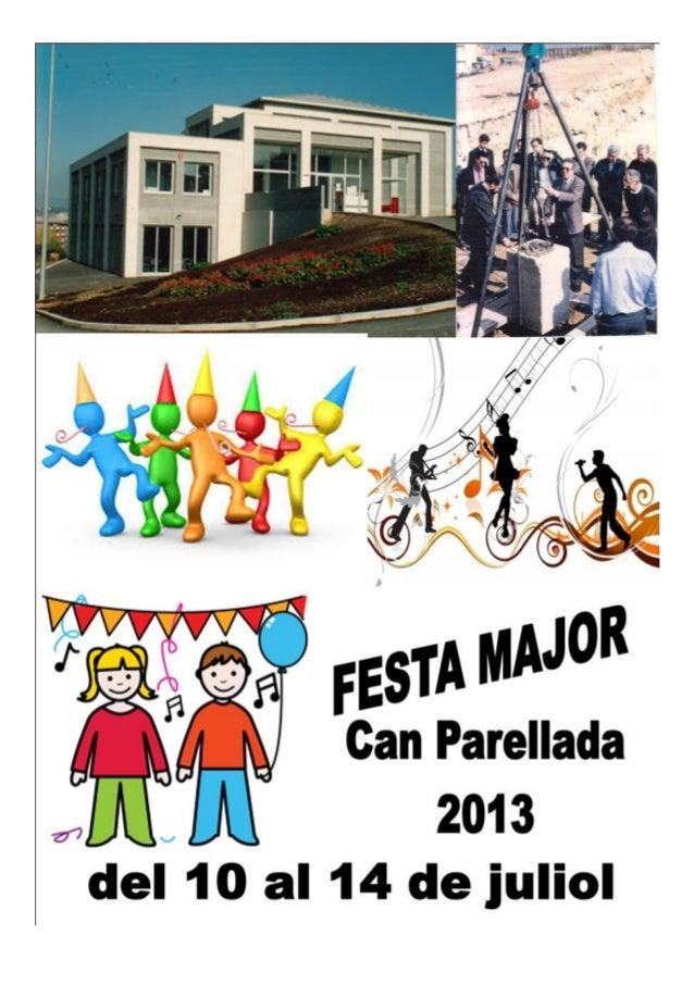 Festa major de Can Parellada 2013