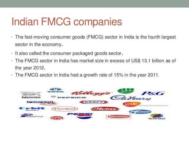 Analysis of FMCG Sector