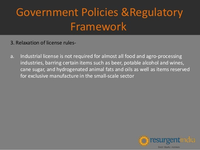 Government policy statement