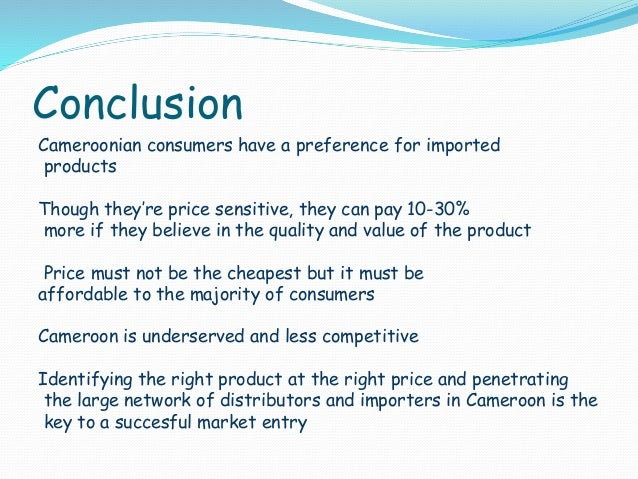 conclusion on fmcg Research paper on fmcg products » #1 - free online essays and research paper on fmcg products the first thing that must be done before jumping into a personal  these aspects about your research paper on branding will.