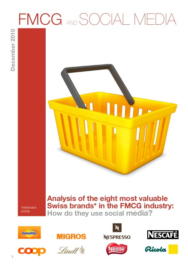 FMCG               AND   SOCIAL MEDIADecember 2010                              Analysis of the eight most valuable       ...