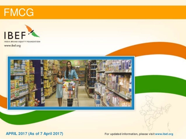 industry report of the fmcg sector Fmcg is the 4th largest sector in the indian economy household and personal  care is the leading segment, accounting for 50 per cent of the overall market.