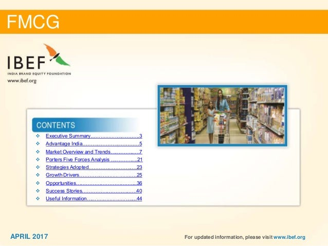 forecasting in fmcg industry Strategic analysis of 3pl markets in the 3pl market in the indian fmcg sector revenue forecasts breakdown by fmcg industry structure and trade.