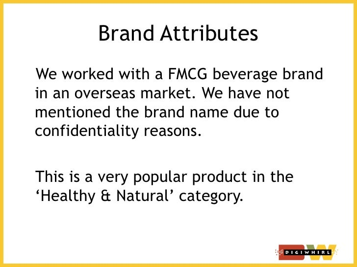 MARKETING MIX POLICIES IN FMCG CASE-STUDY: THE …