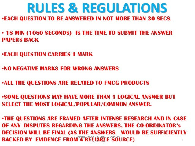 rules and regulation in quiz bee Rules and regulation in quiz bee essay rules and regulations of the national quiz bee elementary makabayan (philippine history, culture & values.