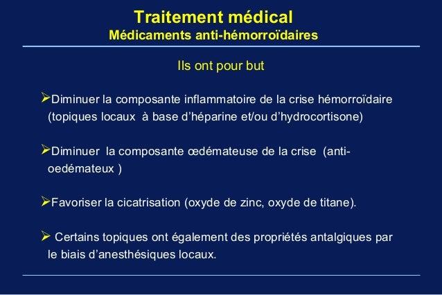 Fmc maladie hemorroidaire Pr Arbaoui fac med tlemcen