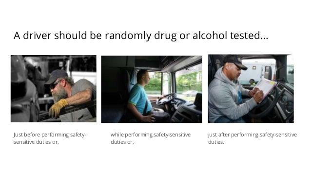 Fmcsa Drug And Alcohol Testing Program Regulations