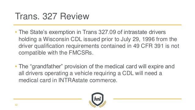 Fmcsa Amp Wisconsin State Patrol Update 2016