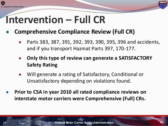 Section 391 of the federal motor carrier safety for The federal motor carrier safety administration