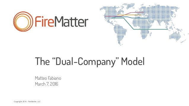 The Dual Company Model: Pros and Cons