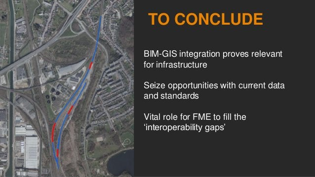 Bridging the gap between BIM and GIS
