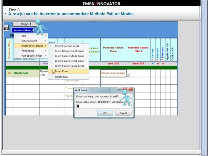 Fmea Innovator - Step by Step