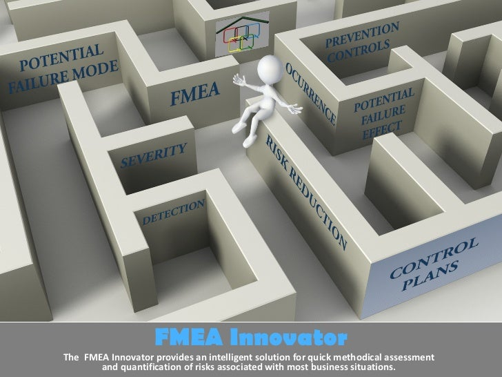 FMEA Innovator The  FMEA Innovator provides an intelligent solution for quick methodical assessment and quantification of ...