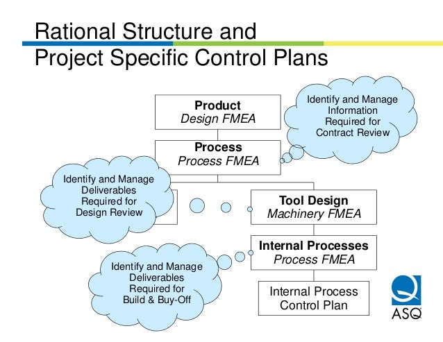 Rational Structure andProject Specific Control Plans                                             Identify and Manage      ...