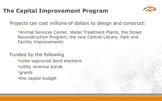 Mapping Capital Improvement Program Projects at the City ...