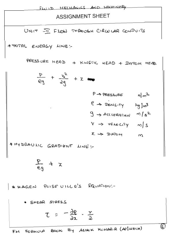 Fluid Mechanics And Machinery Book