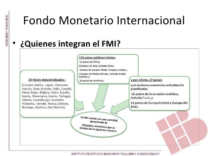 Fondo monetario internacional quienes lo conforman