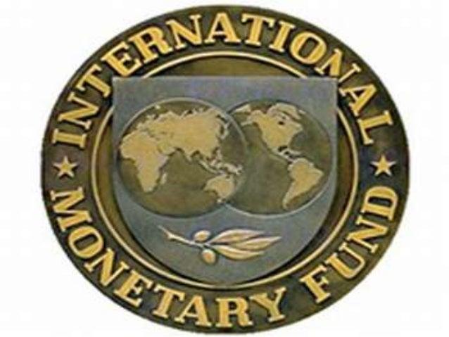 Fundo Monetário             Internacional     O Fundo Monetário Internacional (FMI) éuma organização internacional que pre...