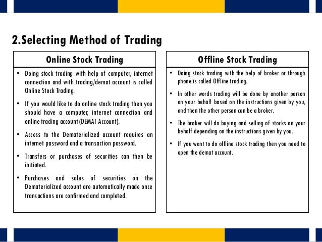 How to trade options on commodities online