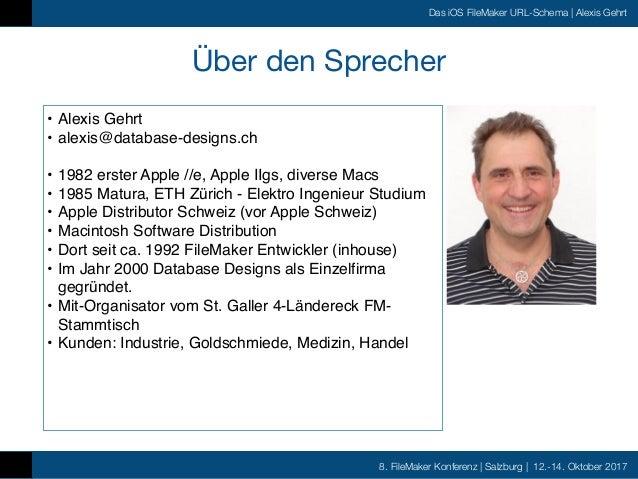 FMK2017 - Das iOS FileMaker URL Schema by Alexis Gehrt Slide 2