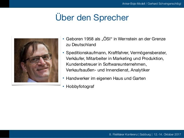 FMK2017 - Die Anker Boje Methode by Gerhard Schwingenschlögl Slide 2