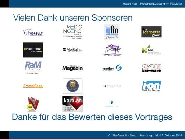Fmk2019 Produktentwicklung mit FileMaker by Harald Mair