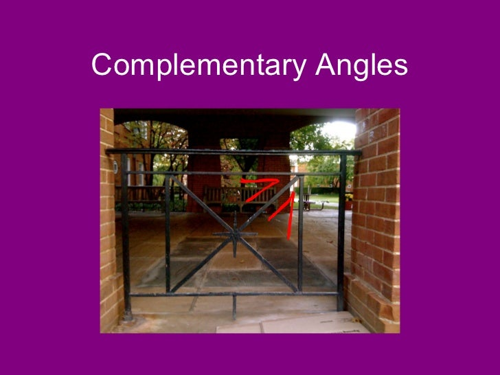 Vertical Angles In Real Life : Angles in real life
