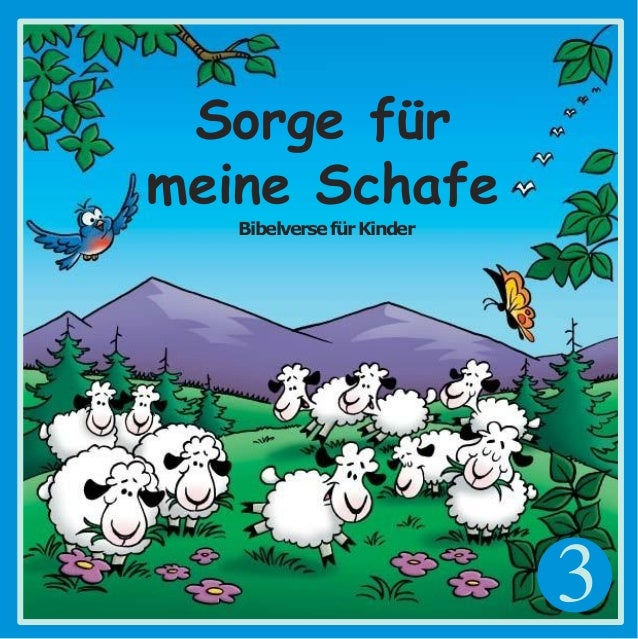 3 Sorge f�r meine Schafe Bibelversef�rKinder