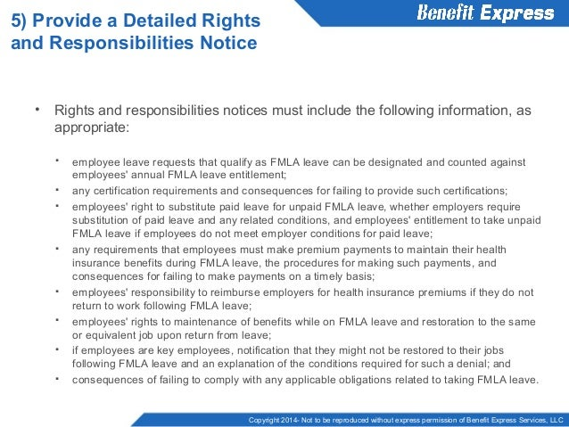 How to Comply with FMLA