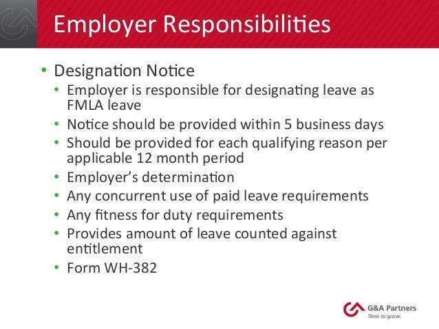 Fundamentals of FMLA