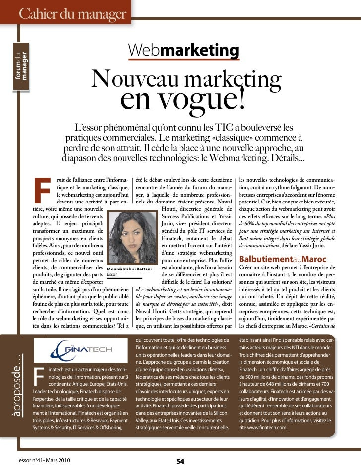 Cahier du manager                                                                  Webmarketing   manager   forumdu       ...