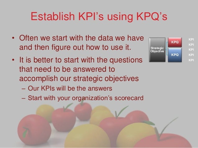 kpq important to kpi What is the difference between metrics and kpis - metrics refer to measurable aspect of the business when a metric reflects an end state, it becomes a kpi.